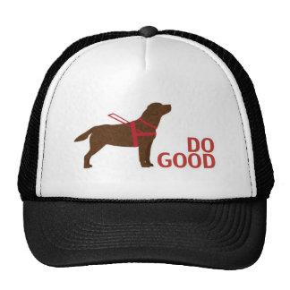 Do Good - Service Dog - Chocolate Lab Trucker Hat