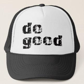 do good simple message gear trucker hat