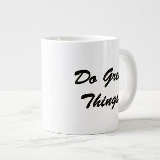 Do Great Things Giant Coffee Mug