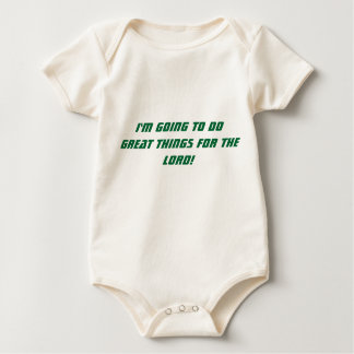 Do Great Things Infant Shirt