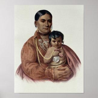 Do-Hon-Go, an Osage Woman Poster