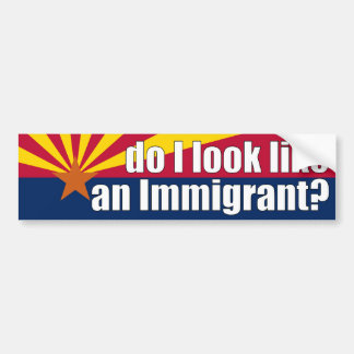 Do I Look Like an Immigrant? Sticker