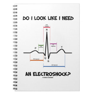 Do I Look Like I Need An Electroshock? EKG ECG Notebook