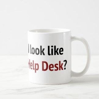 Do I Look Like The Help Desk Coffee Mugs