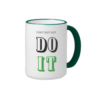Do it Be inspired while having your first cuppa Mug