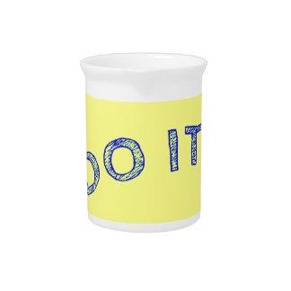 Do it! pitcher