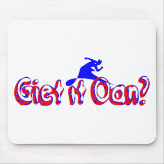 Do it pour on? mouse pad