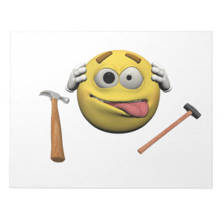 Do it yourself emoticon notepad