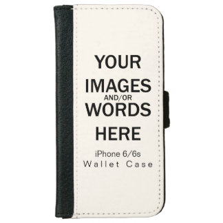 Do It Yourself - iPhone 6/6s Wallet Case iPhone 6 Wallet Case