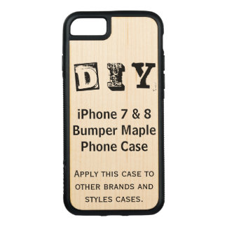 Do It Yourself (More Options) - Carved iPhone 8/7 Case