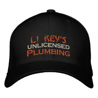 Do-It-Yourself Plumbing Embroidered Hat