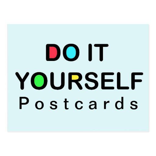 DO IT YOURSELF ~ Postcard
