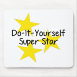 Do-It-Yourself Super Star Mouse Pads