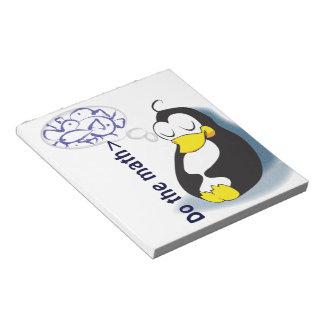 Do  math sleeping penguin dreaming fish notepad