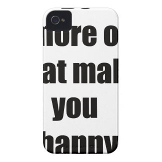 do more of what makes you happy2 iPhone 4 Case-Mate case