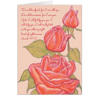 Do not be Afraid-I am your God~Scripture Card