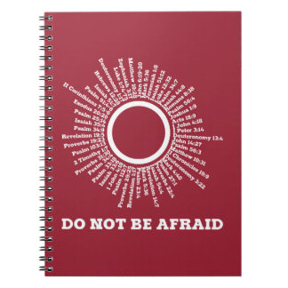 Do Not Be Afraid Scripture Promises Notebooks