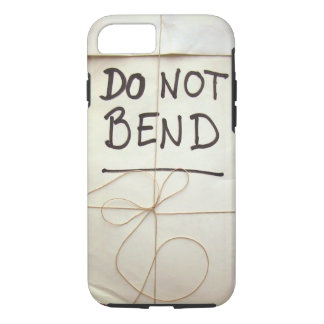 Do Not Bend Paper Parcel Package with String iPhone 7 Case
