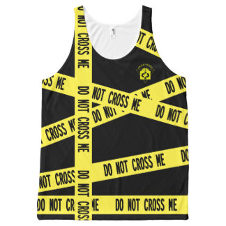 DO NOT CROSS ME All-Over PRINT TANK TOP