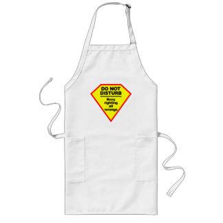 Do Not Disturb apron