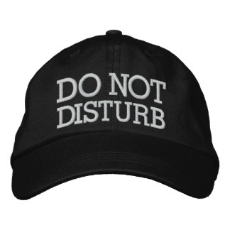 Do Not Disturb by SRF Embroidered Hat