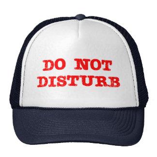 Do Not Disturb Cap