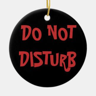 Do not Disturb/ Come In Door hanger Round Ceramic Decoration
