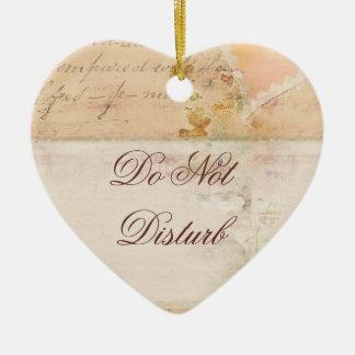 Do Not Disturb  Door Hanger Wedding Ornament