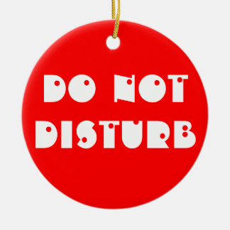 Do Not Disturb/Enter Door Hanger Ornament