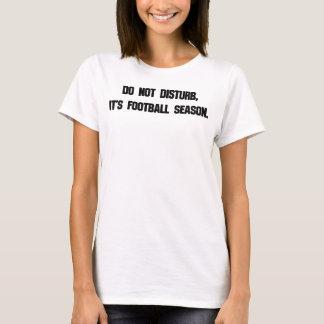 Do Not Disturb Football T-Shirt