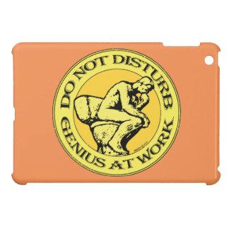 Do Not Disturb, Genius AT Work (colour stamp) iPad Mini Cases