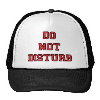 Do Not Disturb Hats