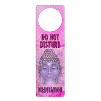 Do Not Disturb Meditation Door Hanger