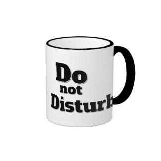 Do not Disturb Ringer Mug