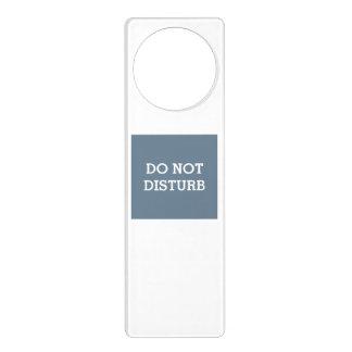 Do Not Disturb Slate Gray Door Hanger by Janz