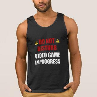Do Not Disturb Video Game Singlet