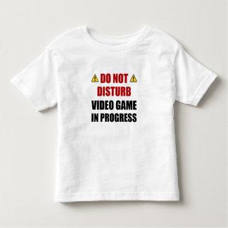 Do Not Disturb Video Game Toddler T-Shirt