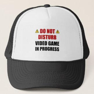 Do Not Disturb Video Game Trucker Hat