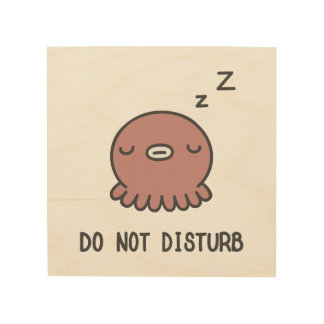 Do Not Disturb Wood Wall Decor