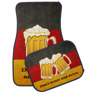 DO NOT Drink and Drive - Oktoberfest Beer Party Car Mat