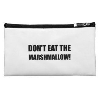 Do Not Eat Marshmallow Test Cosmetic Bag