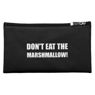 Do Not Eat Marshmallow Test Makeup Bag
