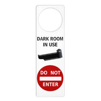 Do Not Enter Darkroom In Use Film Strip Canister Door Hanger