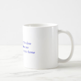Do not get to close my voices are looking for a... basic white mug