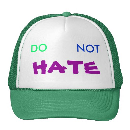 DO, NOT, HATE MESH HAT