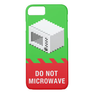 Do Not Microwave (Green) iPhone 7 Case