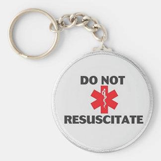 Do Not Resuscitate Key Ring