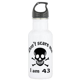 Do Not Scare Me I Am 43 532 Ml Water Bottle