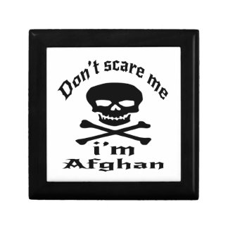 Do Not Scare Me I Am Afghan Gift Box