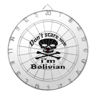 Do Not Scare Me I Am Bolivian Dartboard